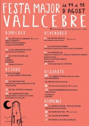 Festa Major de Vallcebre 2019